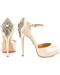 Badgley Mischka White Kindra - Lyst