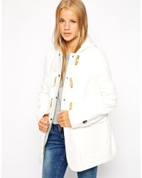 Asos Ultimate Hooded Duffle Coat - Lyst