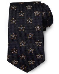 Brooks Brothers Vanderbilt University All-Over Logo Tie - Lyst