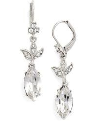 Marchesa | Stone Drop Earrings | Lyst