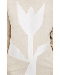 Stella McCartney Tulip Sweatshirt - Lyst
