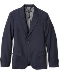 Marc By Marc Jacobs Tropical Wool Suit Jacket - Lyst