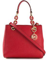 MICHAEL Michael Kors Cynthia Leather Bag - Lyst