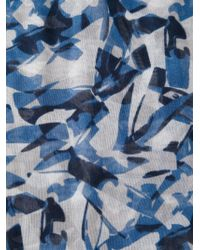 Victorinox - Printed Scarf - Lyst