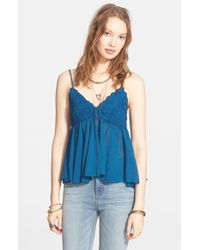 Free People 'Birds In The Sky' Top - Lyst