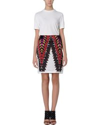 Rodarte Knee Length Skirt - Lyst