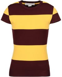 Stella McCartney Rugby Stripes Jumper - Lyst
