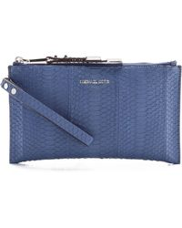 Michael Kors Collection Miranda Zip Clutch - Lyst
