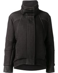 Helmut Lang Funnel Neck Jacket - Lyst