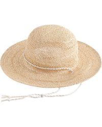 J.Crew Open-Weave Sun Hat beige - Lyst