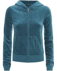 Juicy Couture Mosaic Choose Juicy Velour Hoodie - Lyst