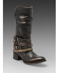 Freebird by Steven Drover Boot in Black - Lyst