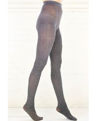Urban Outfitters Herringbone Opaque Tight - Lyst