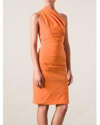 Preen One Shoulder Dress - Lyst