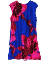 Thakoon Cobalt Fuschia Layered Dress - Lyst