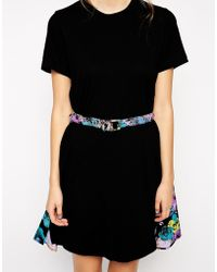 Antipodium - South Beach Printed T-Shirt Dress - Lyst