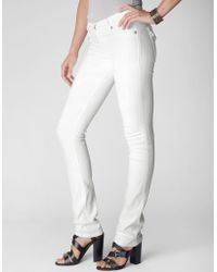 True Religion Cora Straight White Womens Jean - Lyst