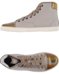 Lanvin High-Tops & Trainers beige - Lyst