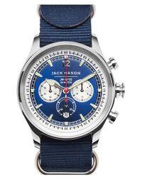 Jack Mason Brand - Nautical Chronograph Nato Strap Watch - Lyst