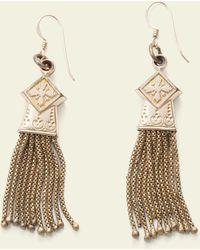 Erica Weiner - Victorian Tassel Earrings - Lyst