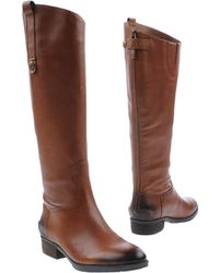 Sam Edelman Brown Boots - Lyst