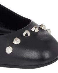 Balenciaga Studded Flats - Lyst