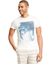 Tommy Hilfiger Graphic Tee - Lyst
