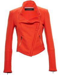 Roland Mouret Woven Cotton Jacket - Lyst