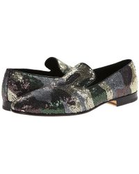 Doucal's Camouflage Loafer - Lyst