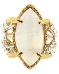 Tessa Metcalfe - Moonstone Marquise - Claws Of Engagement - Lyst