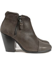Rag & Bone Margot Nubuck Leather Bootie - Lyst