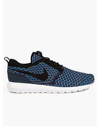 Nike Mens Neo Turquoise Flyknit Roshe Run Sneakers - Lyst