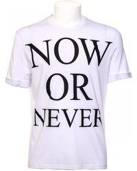 Neil Barrett | T-shirt Now Or Never | Lyst