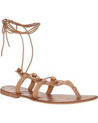 Joie Torres Gladiator Thong Sandals - Lyst