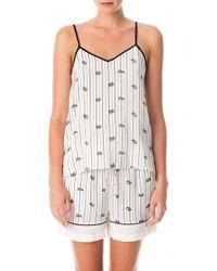 Tibi | Stripe Rope Pyjama Set | Lyst
