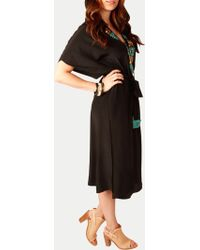 Figue Brianna Kaftan 21512204 black - Lyst