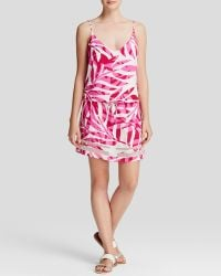 Townsen - Palm Fuchsia Dress - Lyst