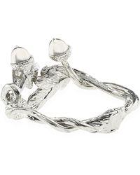 Alexander McQueen Double Acorn Bracelet - Lyst