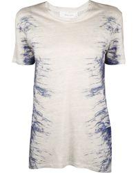 Iro Pre-order Gella Side Tie Dye Tee - Lyst