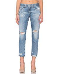 AG Jeans - Nikki Crop - Lyst