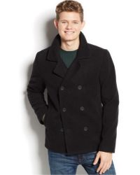 American Rag - Double-Breasted Pea Coat - Lyst