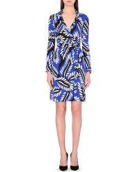 Diane von Furstenberg Jeanne Silk Dress - For Women - Lyst