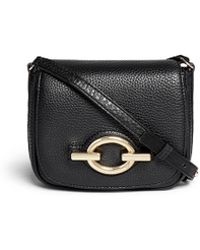 Diane von Furstenberg 'Sutra Café' Mini Deergrain Leather Shoulder Bag - Lyst