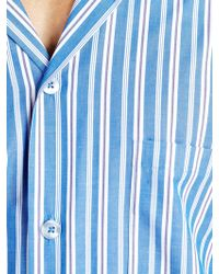 John Lewis - Steve Brushed Cotton Striped Pyjamas - Lyst