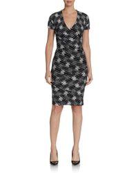 Plenty by Tracy Reese Marnie Printed Sheath Dress - Lyst
