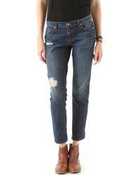 J Brand - Aidan Slouchy Boy Jeans - Lyst
