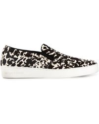 Michael Kors Keaton Printed Slipon Sneakers - Lyst