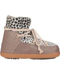 Ikkii - Leopard-Print Leather Snow Boots - Lyst