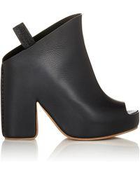 Balenciaga | Slingback Platform Mules | Lyst