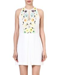 French Connection Summer Lilli Flared Dress - Lyst